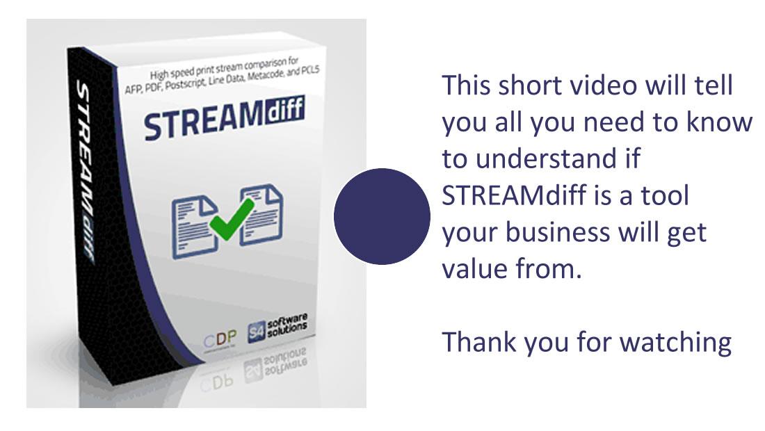streamdiff